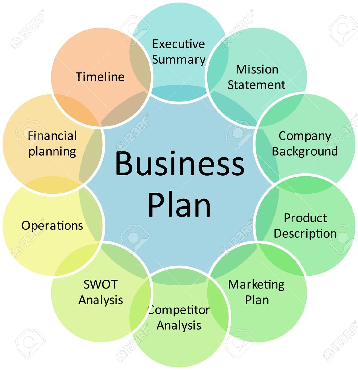 Business plan management components strategy concept diagram business plan management components strategy concept diagram illustration stock illustration 6645862 pooptronica