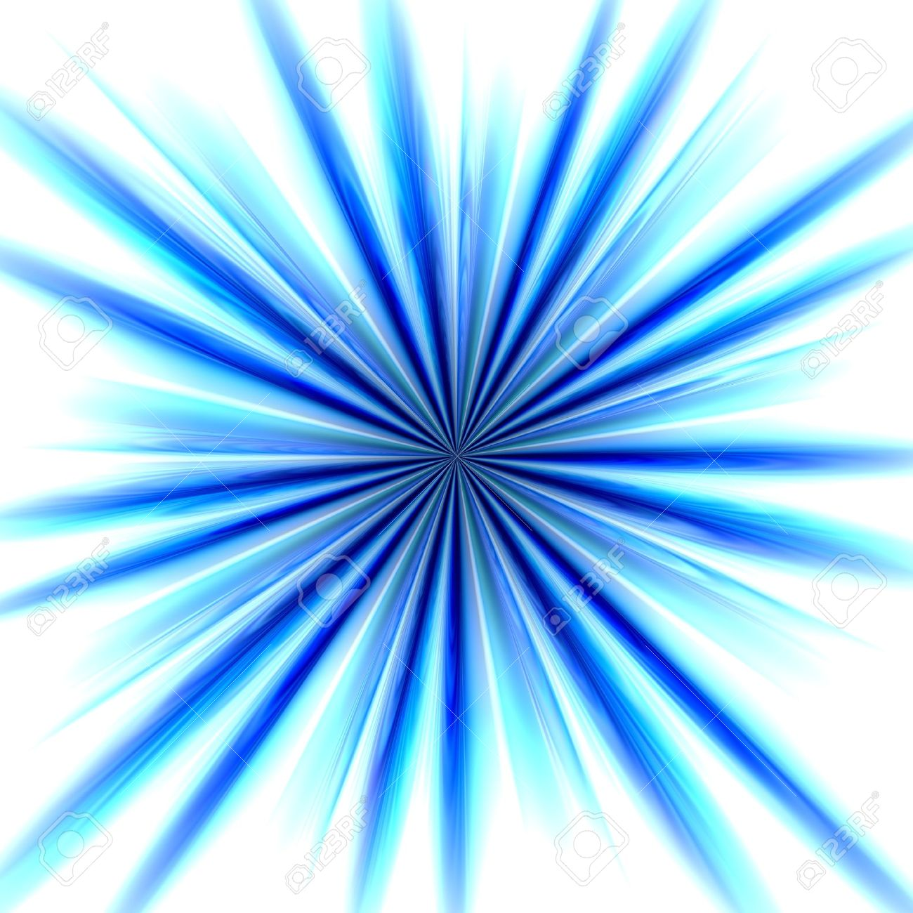 Radial Zoom Burst Of Energy, Abstract Background Illustration ...