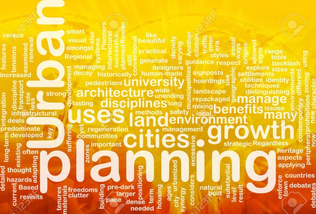 Urban planning background concept international Stock Photo - 9914801