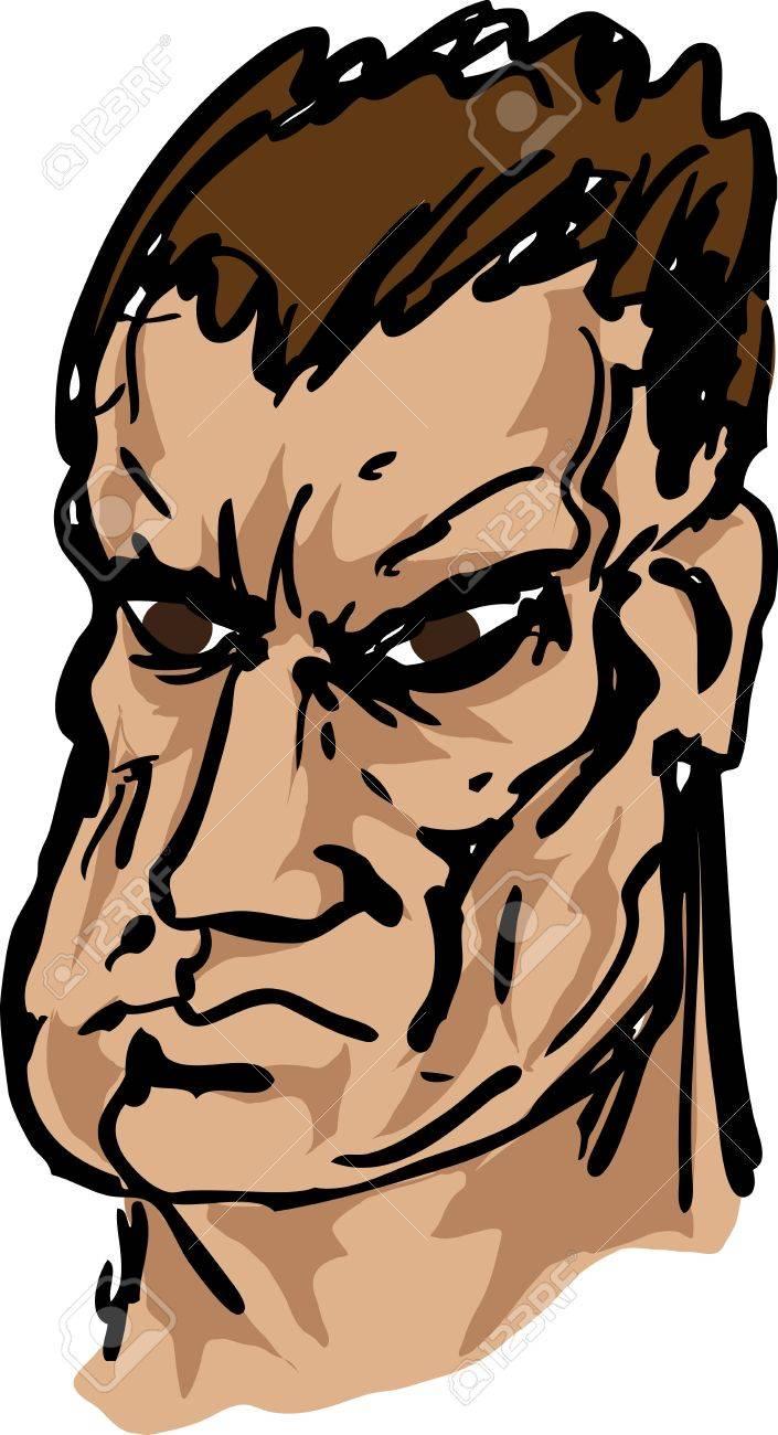 mean looking guy