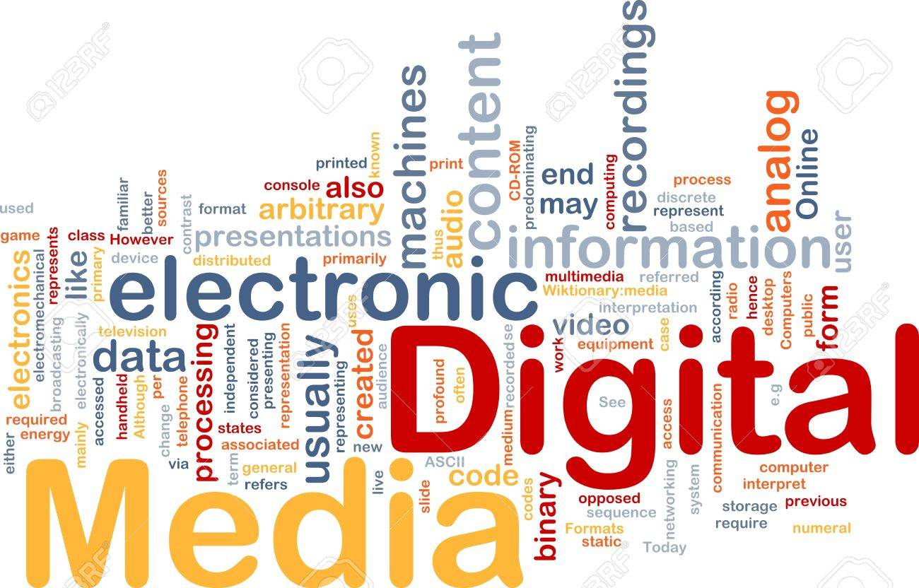 role of electronic media in communication