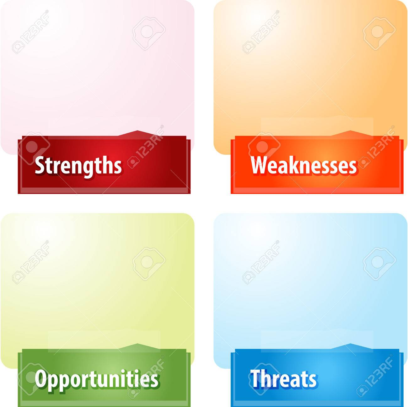 business strategy concept infographic diagram illustration of business strategy concept infographic diagram illustration of swot strengths weaknesses opportunities threats stock illustration 42545412