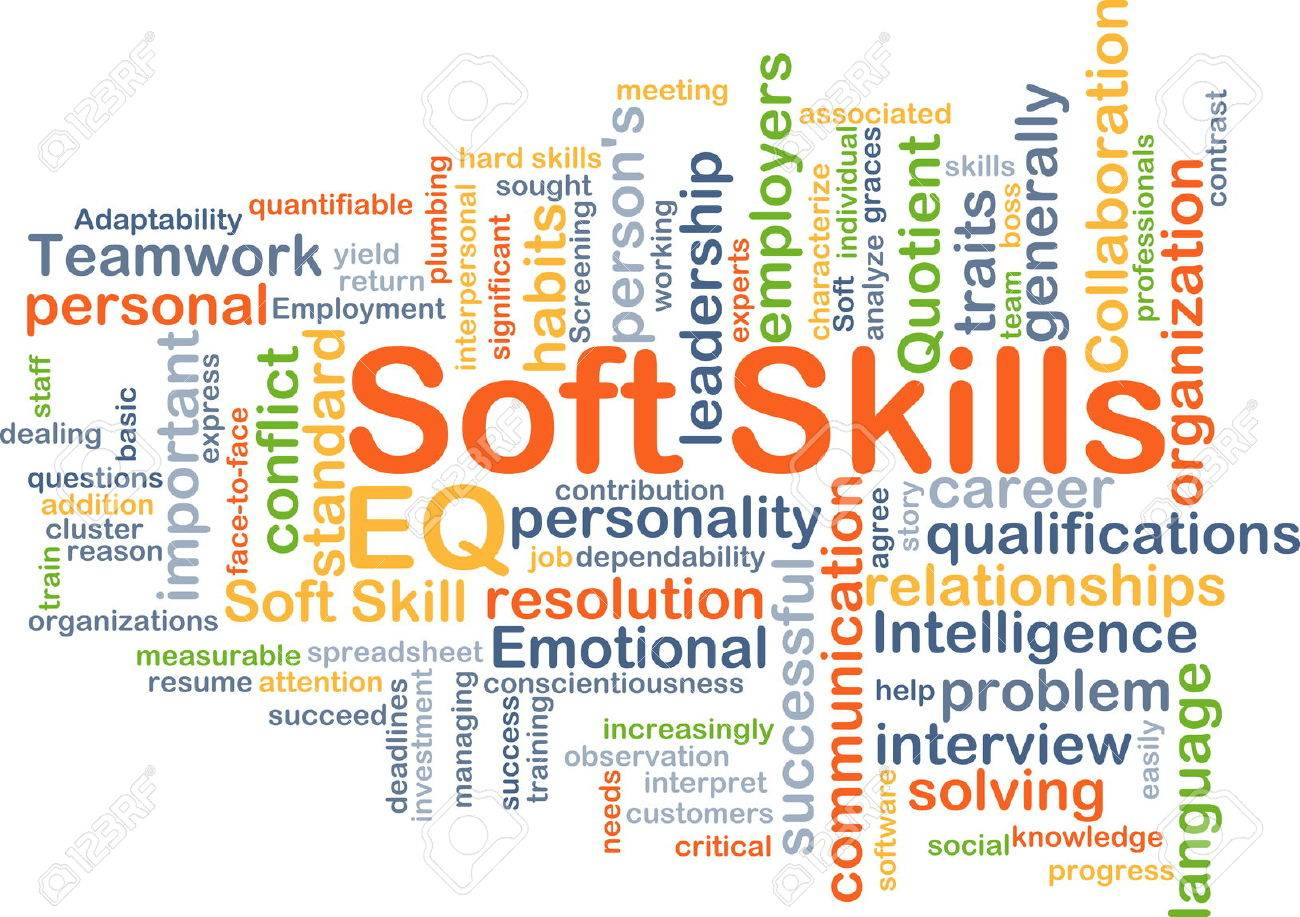 background concept wordcloud illustration of soft skills stock background concept wordcloud illustration of soft skills stock illustration 43519410