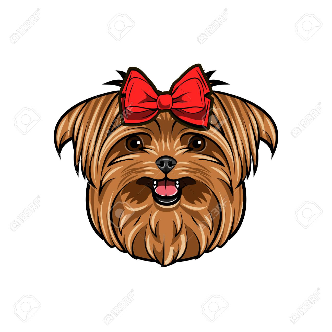 Wonderful Terrier Bow Adorable Dog - 99776292-yorkshire-terrier-dog-head-yorkshire-terrier-decorated-with-red-bow-on-her-head-cute-dog-portrait-ve  Graphic_496248  .jpg