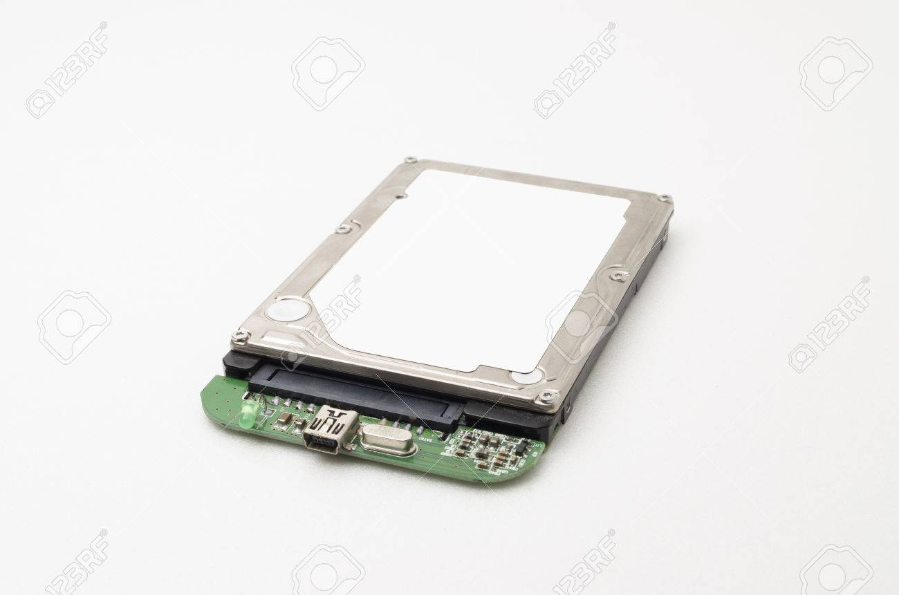 Laptop Hard Disk Drive Attached With Usb Port For Portable Use Stock Photo Picture And Royalty Free Image Image 37015946