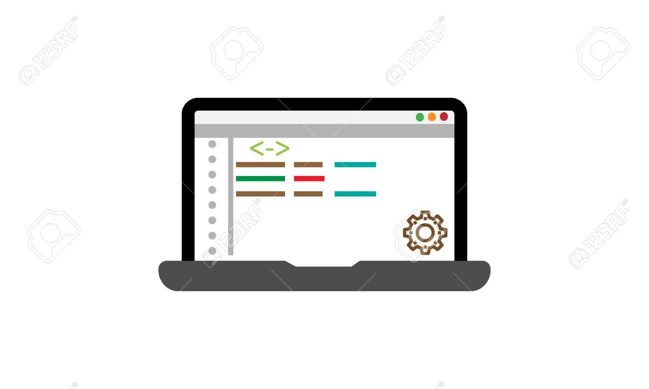 Web Development Vector Icon - vector - 136113623
