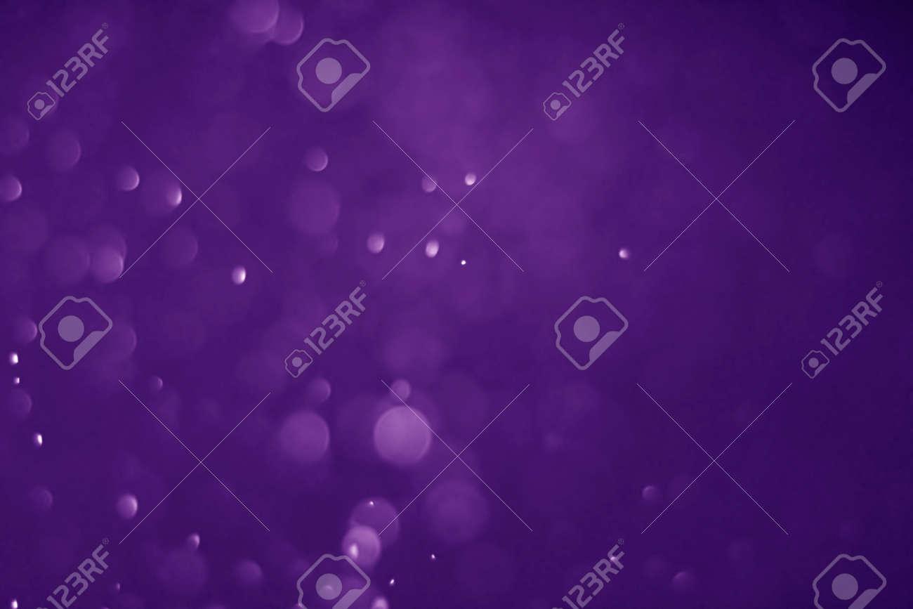 Bokeh purple proton background abstract - 135217802