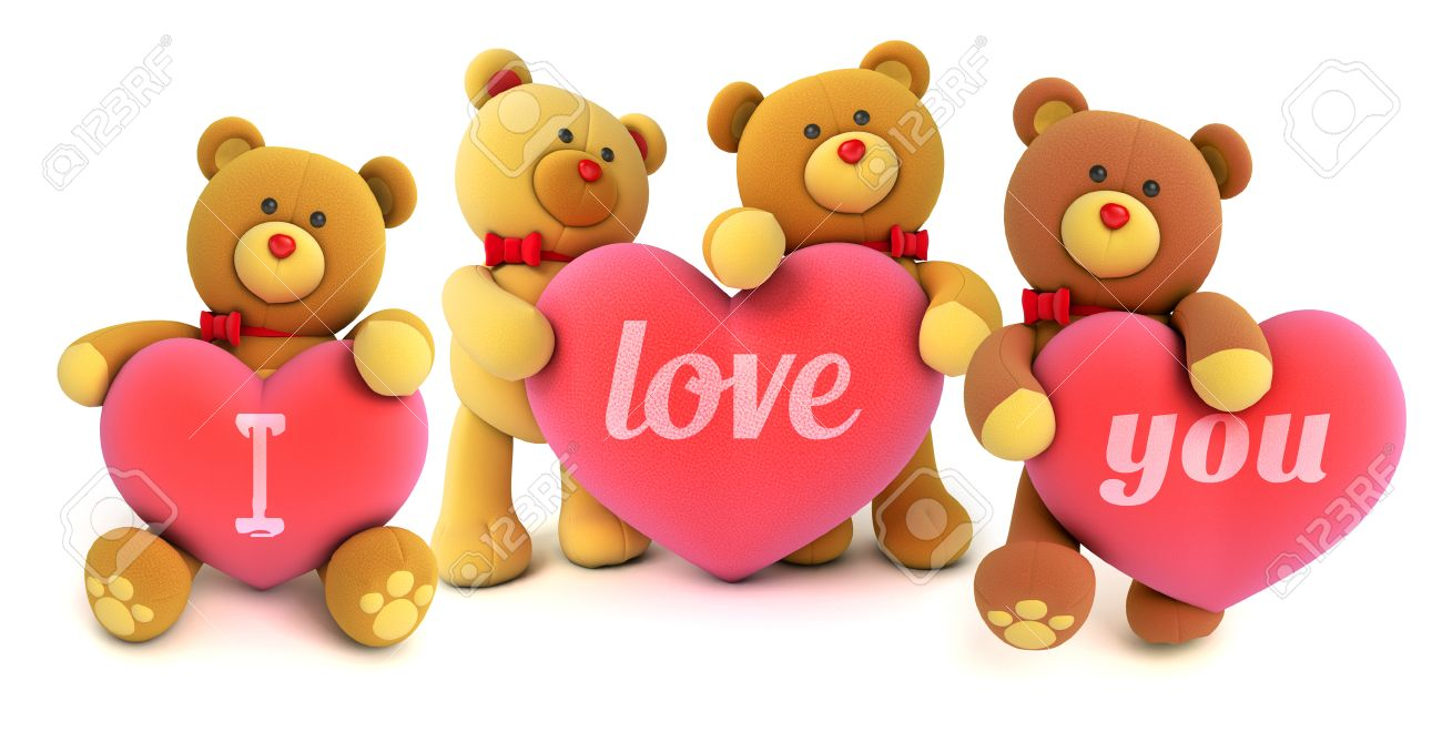 I Love You Teddy Bear Images