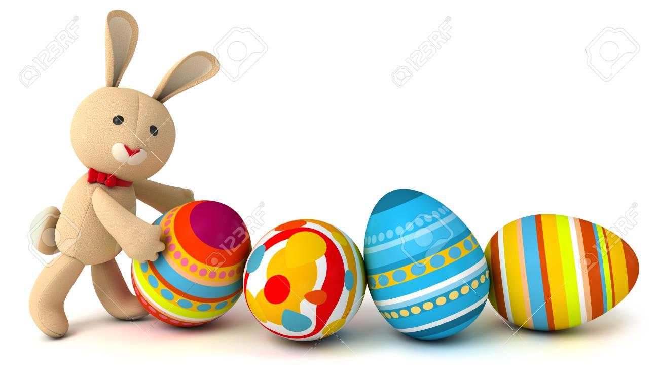 Leuke Grappige Speelgoed Konijn Luiken Uit Het Ei Pasen