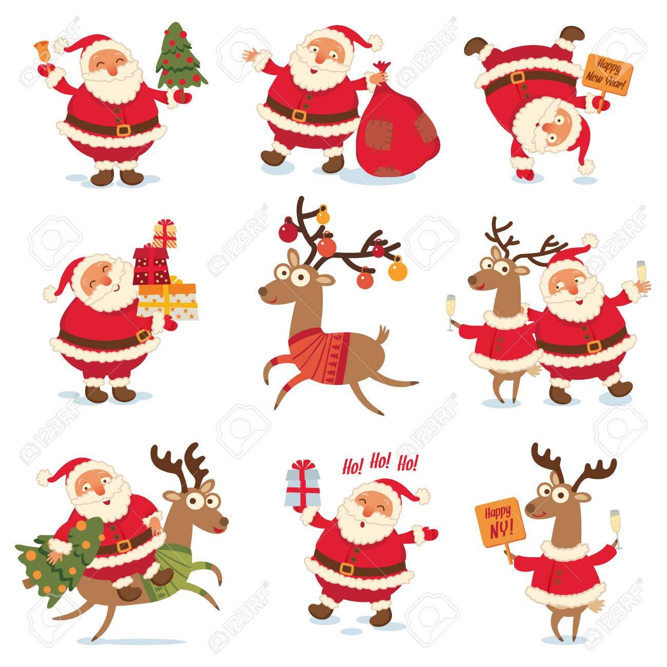 Weihnachtsmann Sack Lizenzfreie Vektorgrafiken Kaufen: 123RF