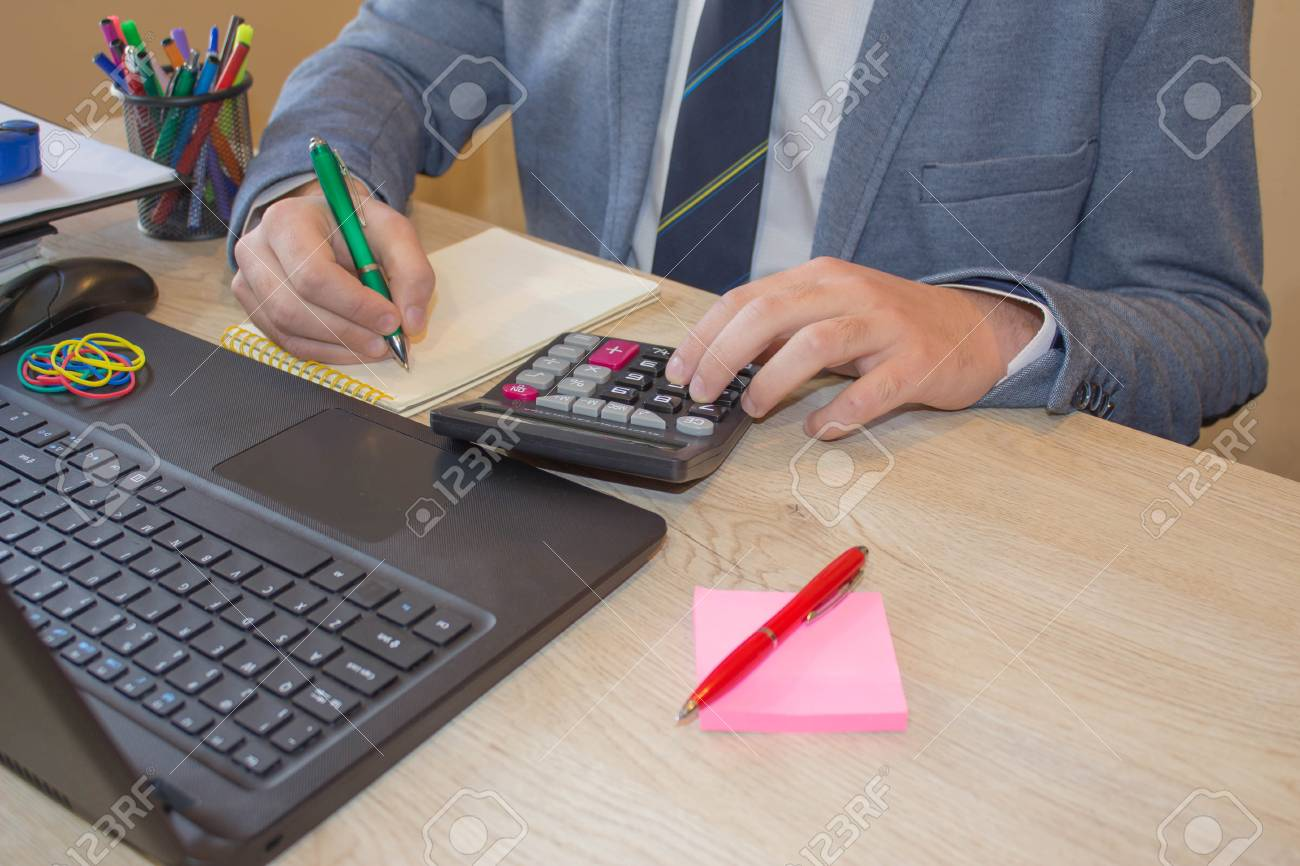 the calculators business owners accounting and technology stock