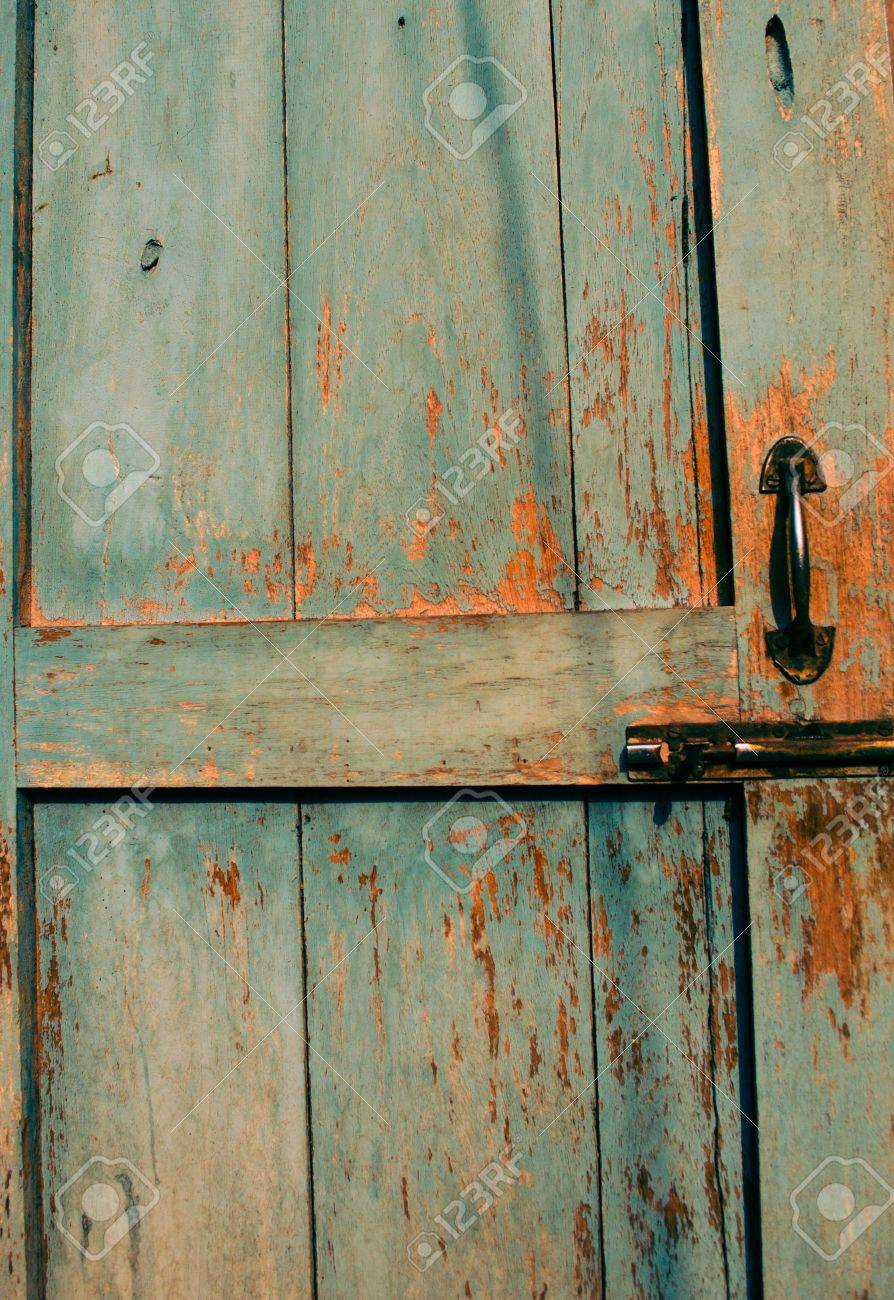 Old Door Lock And Latch Stock Photo Picture And Royalty Free Image