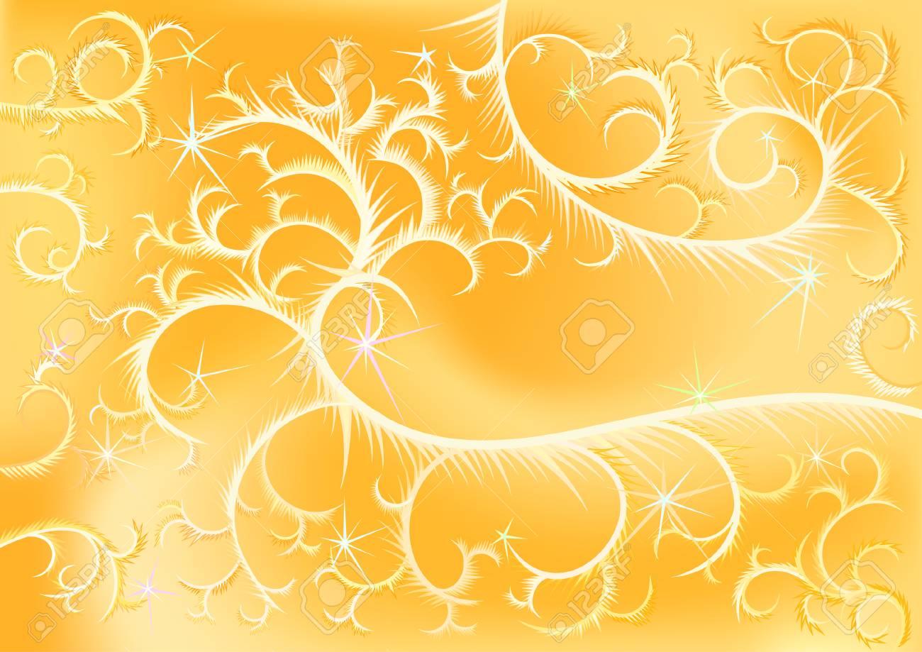 golden Christmas background Stock Vector - 4003500