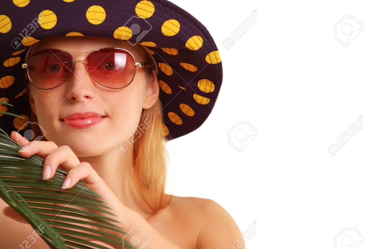 Девушки в панамках фото