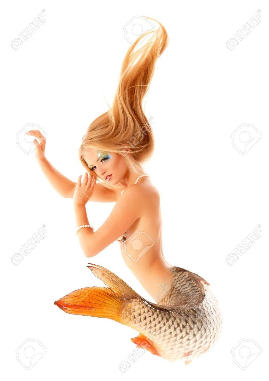 mermaid beautiful magic mythology Stock Photo - 13205086