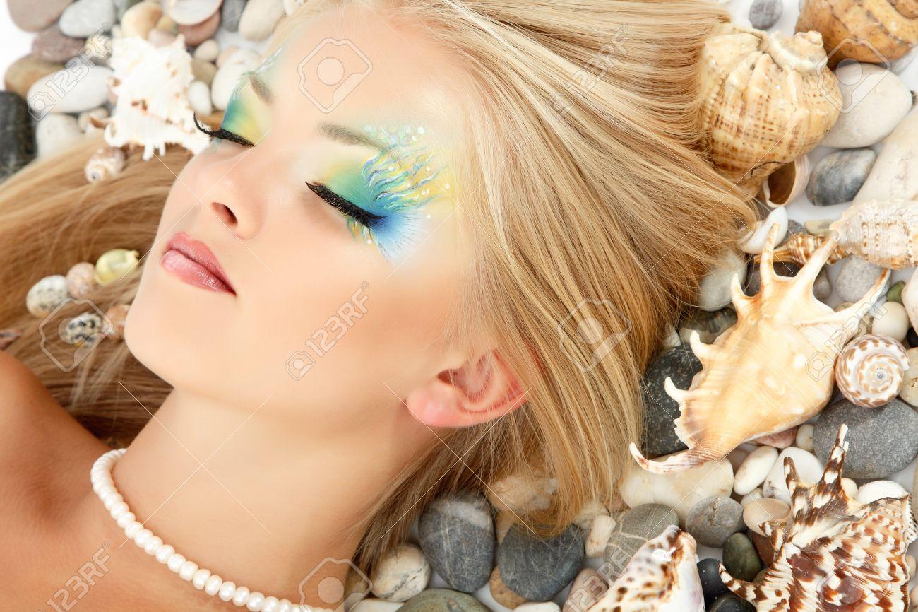 Русалки для детей макияж