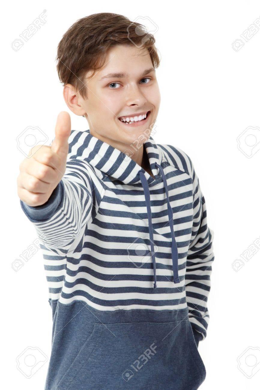 Photo teen boy