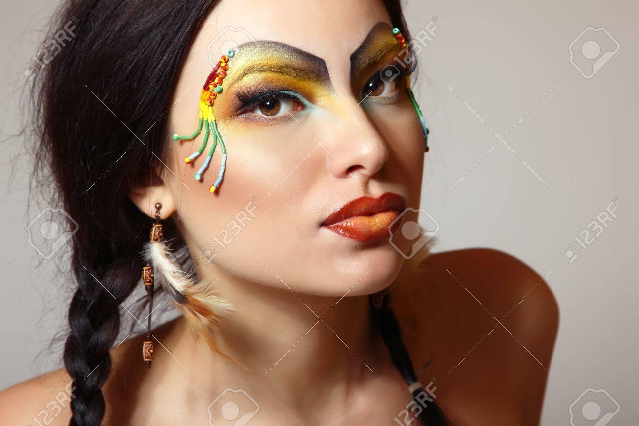 Native American Indian Model native American Indian