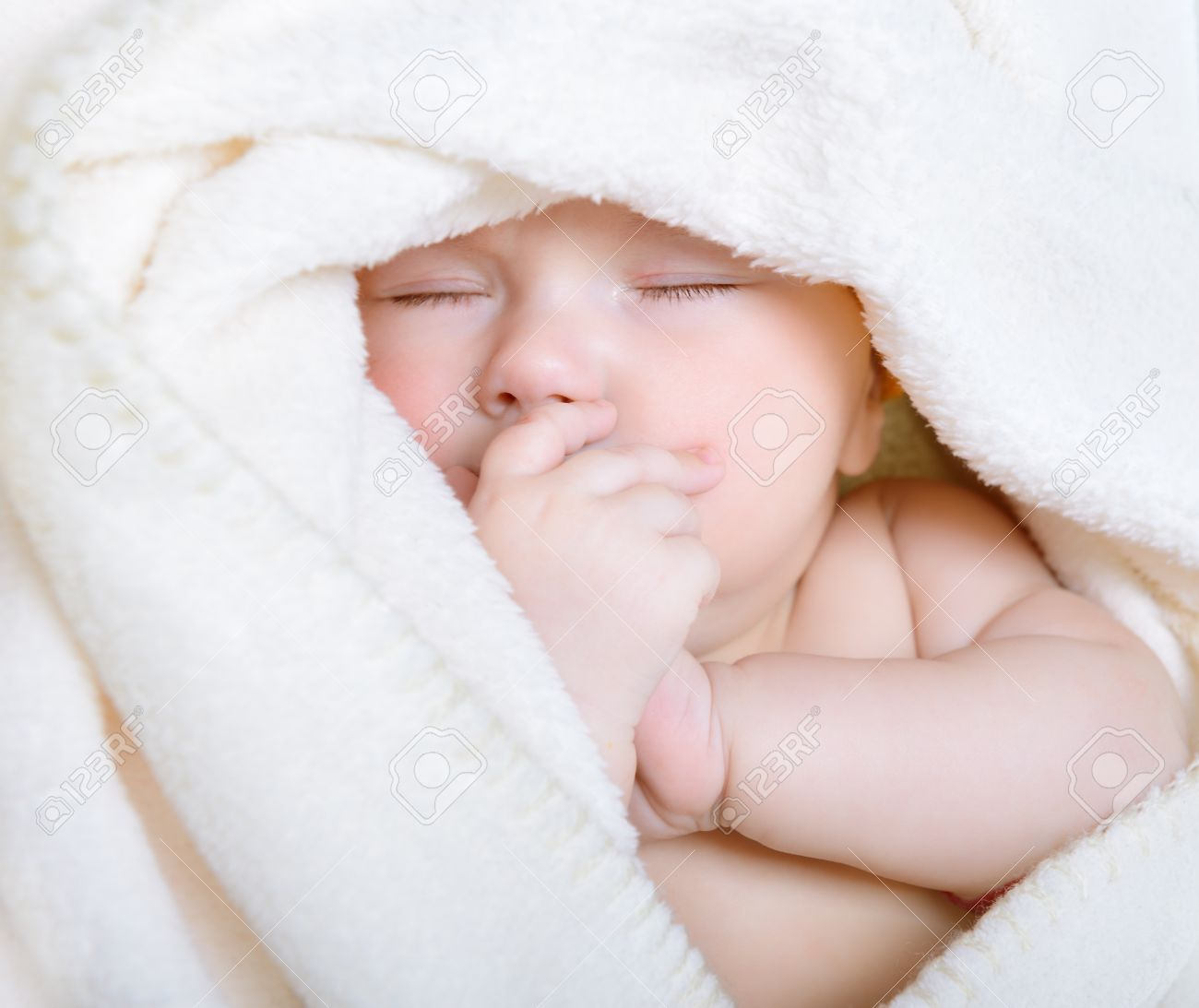 Cute Sleeping Baby Boy Beautiful Infant Face Closeup Stock Photo Picture And Royalty Free Image Image 19086095