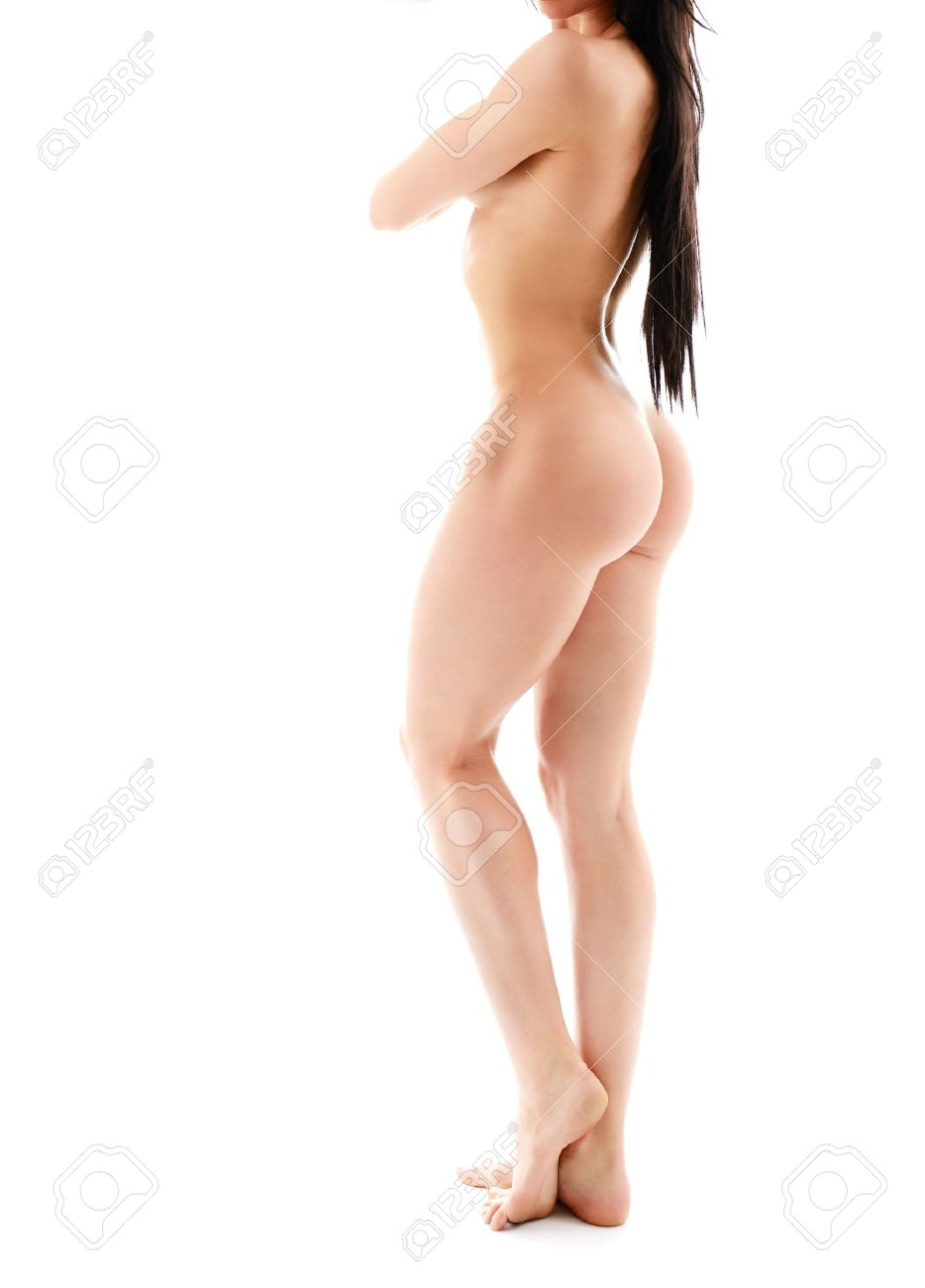 Fitness Girl Nude Black