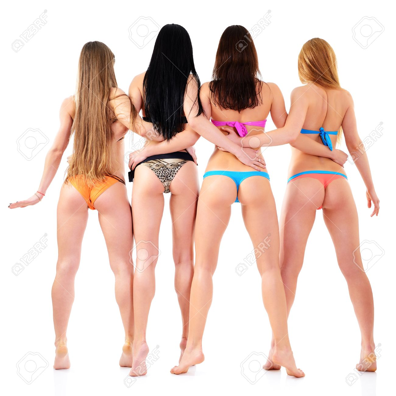 Фото девушек в бикини сзади 23 фотография