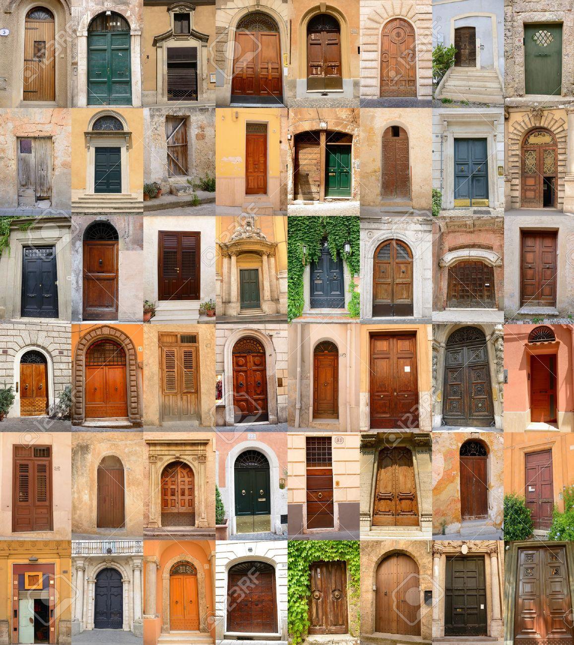 doors in Italy collection of different beautiful ancient door in italian cities architectural details & Doors In Italy Collection Of Different Beautiful Ancient Door ...