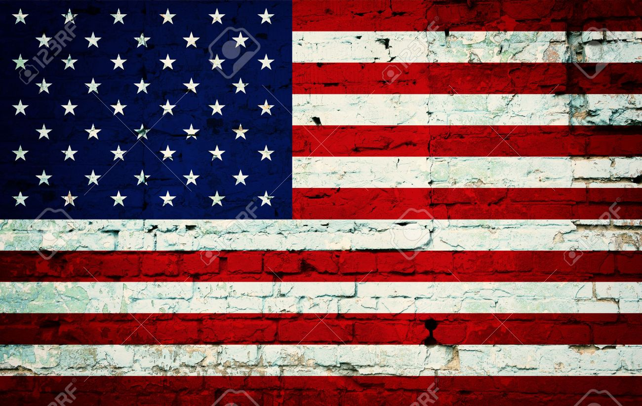 Grunge Usa Flag Background Of National Flag Of United States Stock Photo Picture And Royalty Free Image Image 26251544