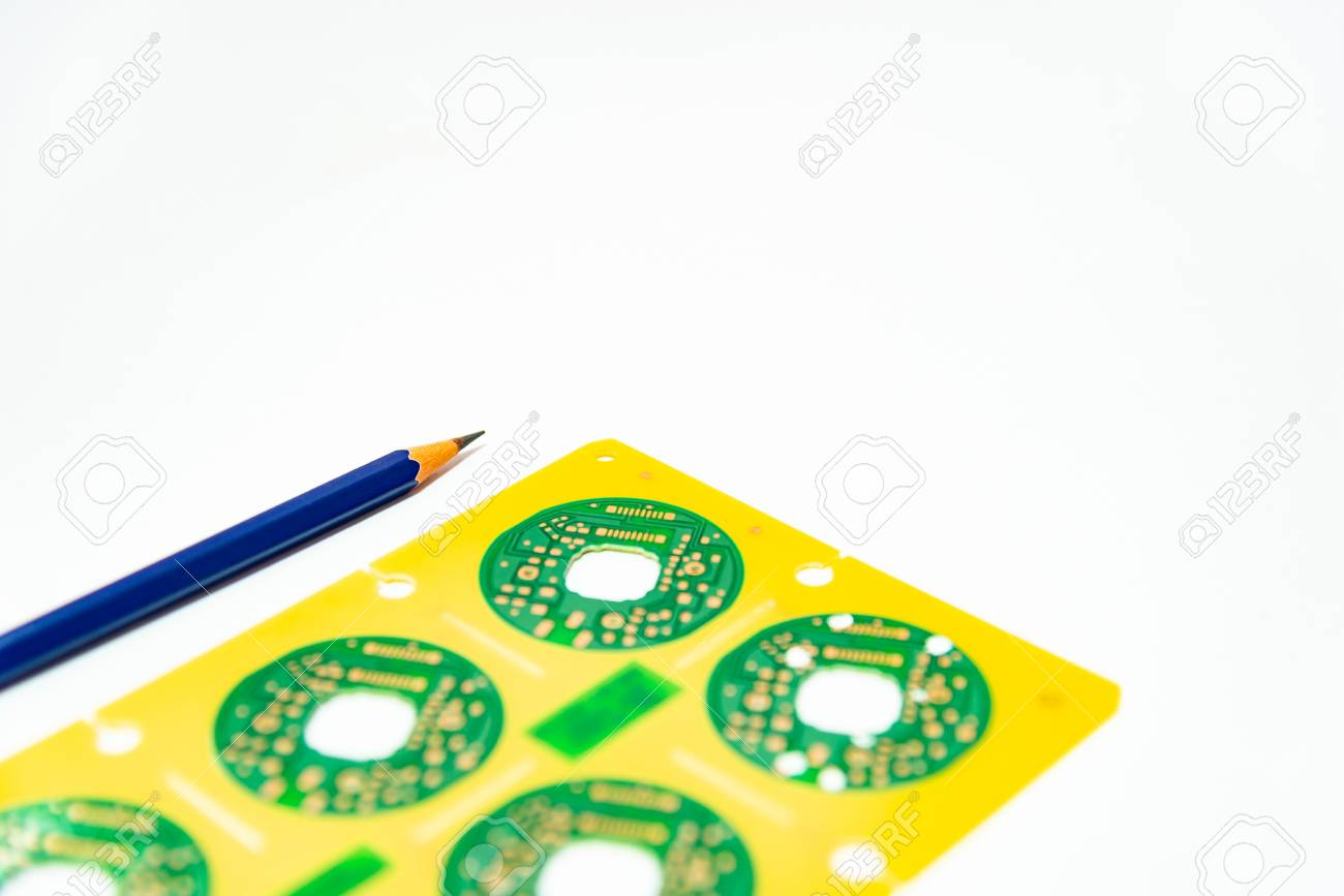 electronic product design concept,printed circuit board(pcb) stock