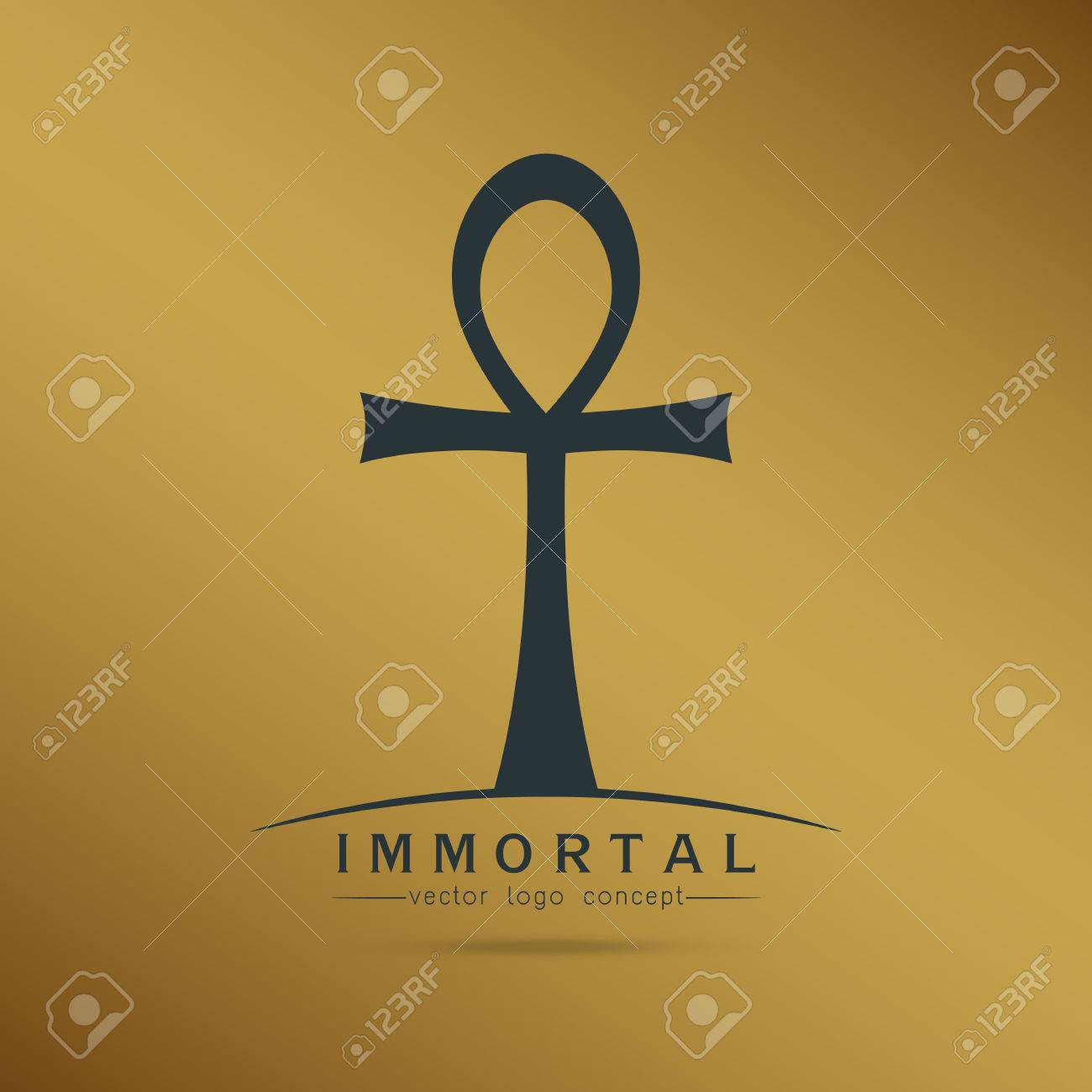 Symbol of immortal ankh egyptian cross of pharaohs vector symbol of immortal ankh egyptian cross of pharaohs vector illustration stock vector 56663343 buycottarizona Choice Image