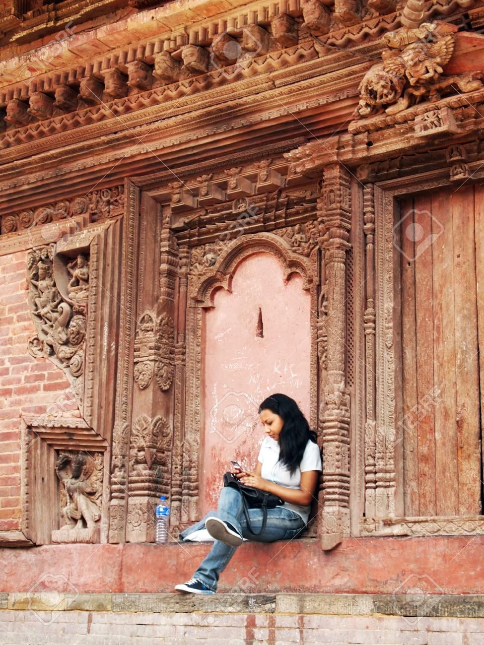 Women in Kathmandu City  Stock Photo - 18800081