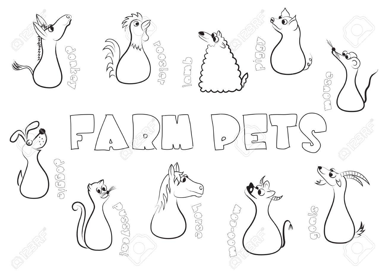 Farm pets Stock Vector - 14981752