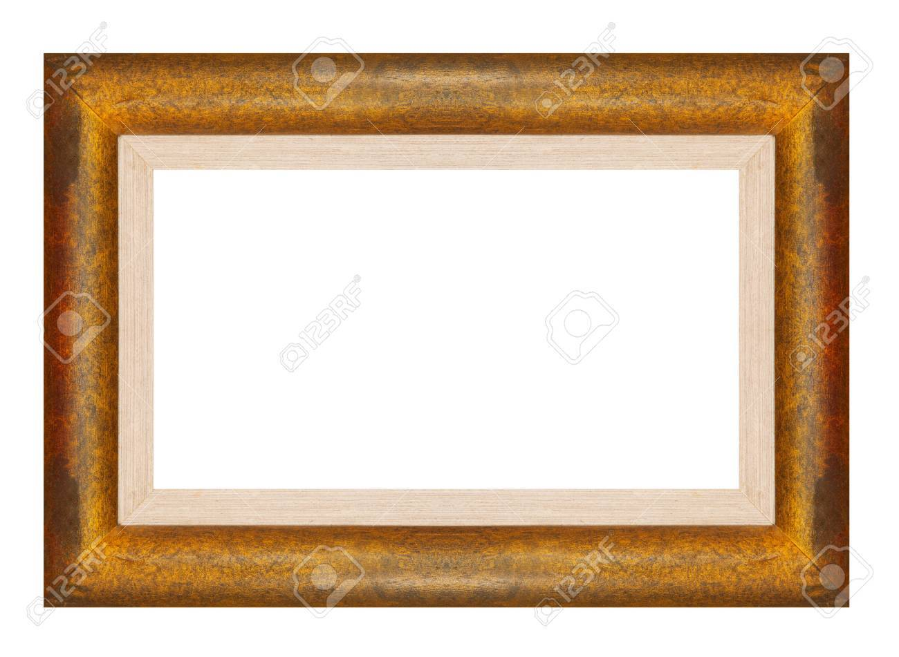 Wood Frame From Teak Wood Stock Photo, Picture And Royalty Free ...