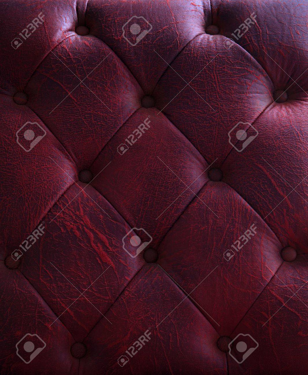 pattern and surface of luxury sofa leather with button on