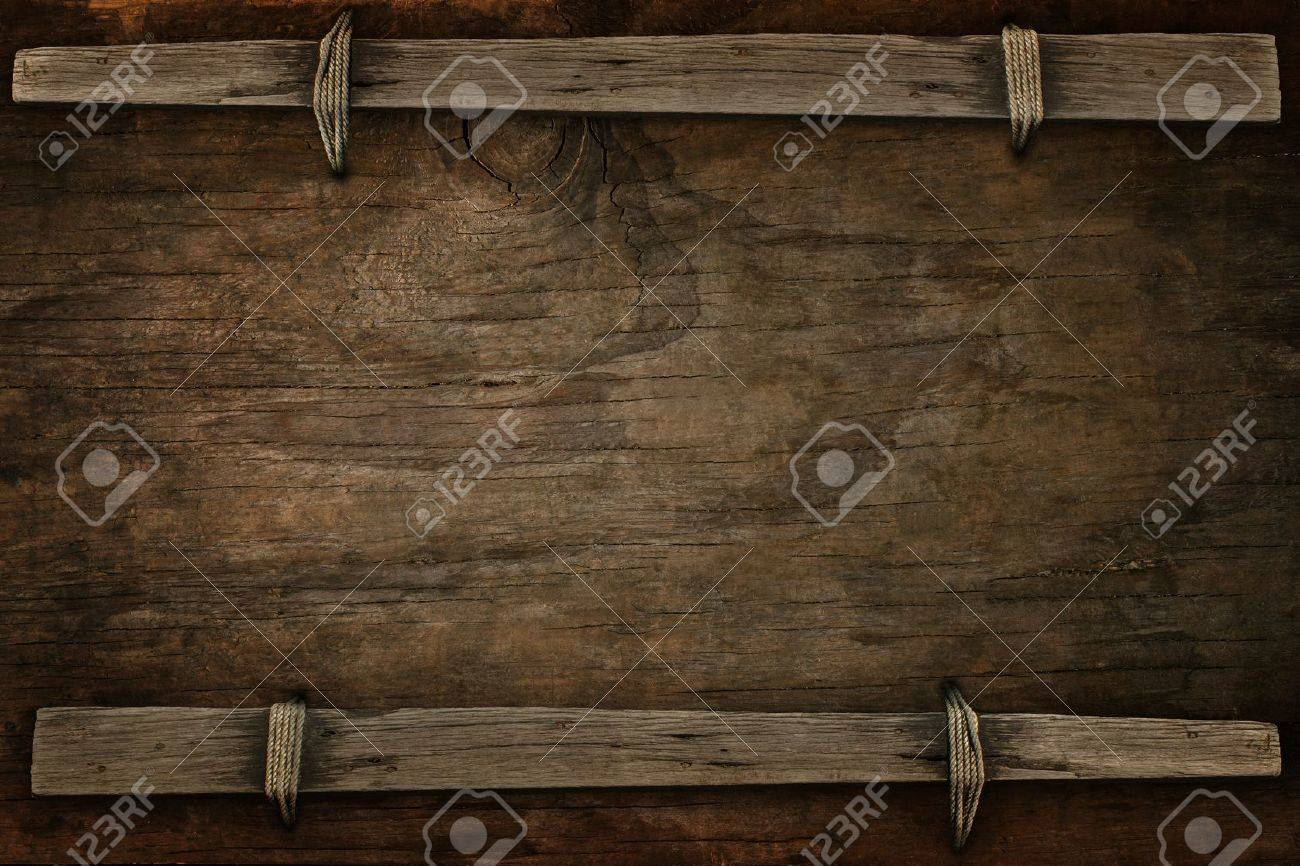 announcement wood with free space  for multipurpose Stock Photo - 17947905