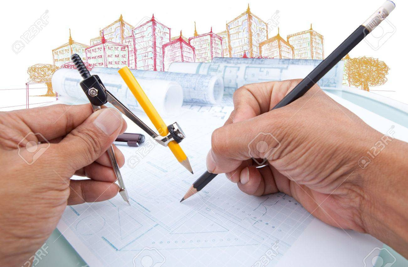 working of architect use for architectural and construction