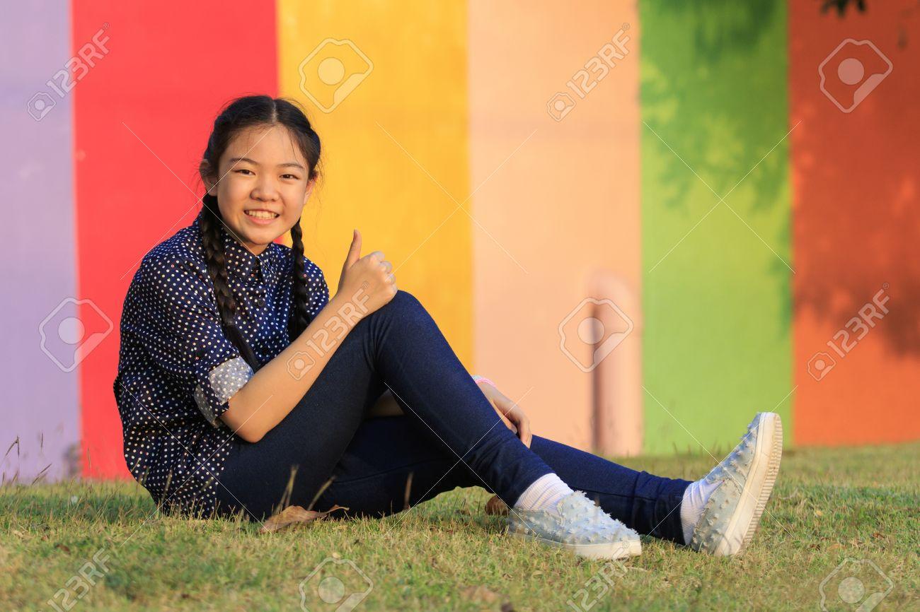 Asian Girl Public