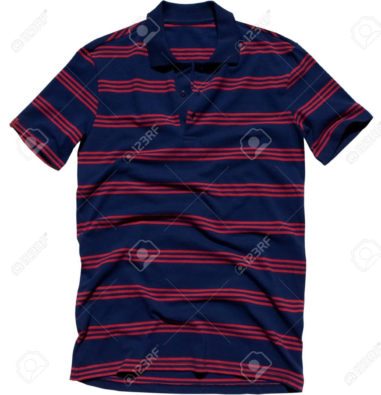 Polo shirt isolated white background Stock Photo - 20333827
