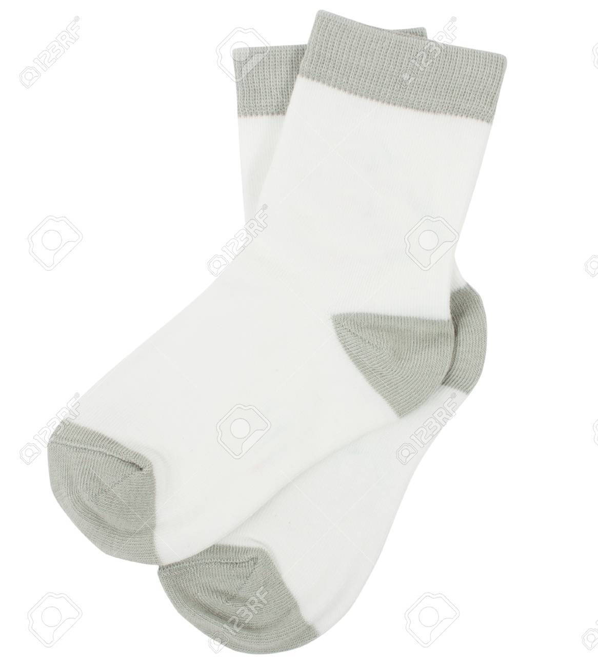 Pair of socks. Isolated on a white background. - 39511016
