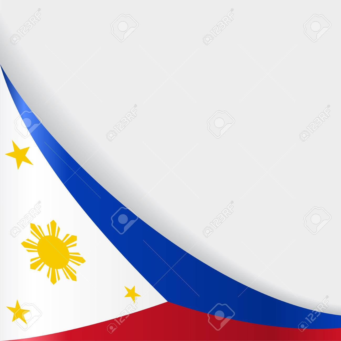 Philippines Flag Background Vector Illustration Royalty Free Cliparts Vectors And Stock Illustration Image 83125394 Free philippine flag vectors (25). philippines flag background vector illustration