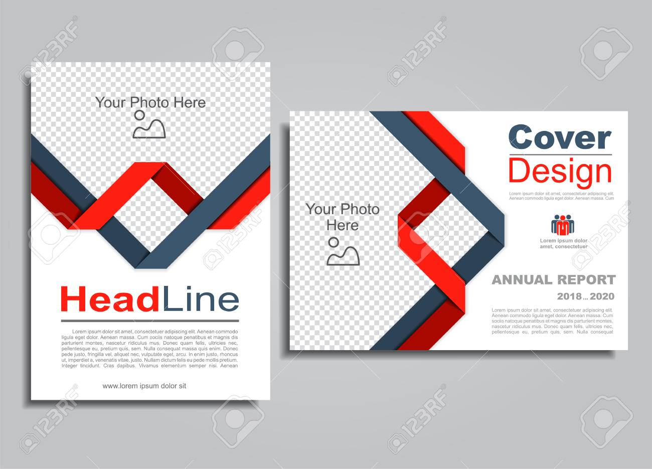 Flyers Report Brochure Cover Book Portfolio Design Template