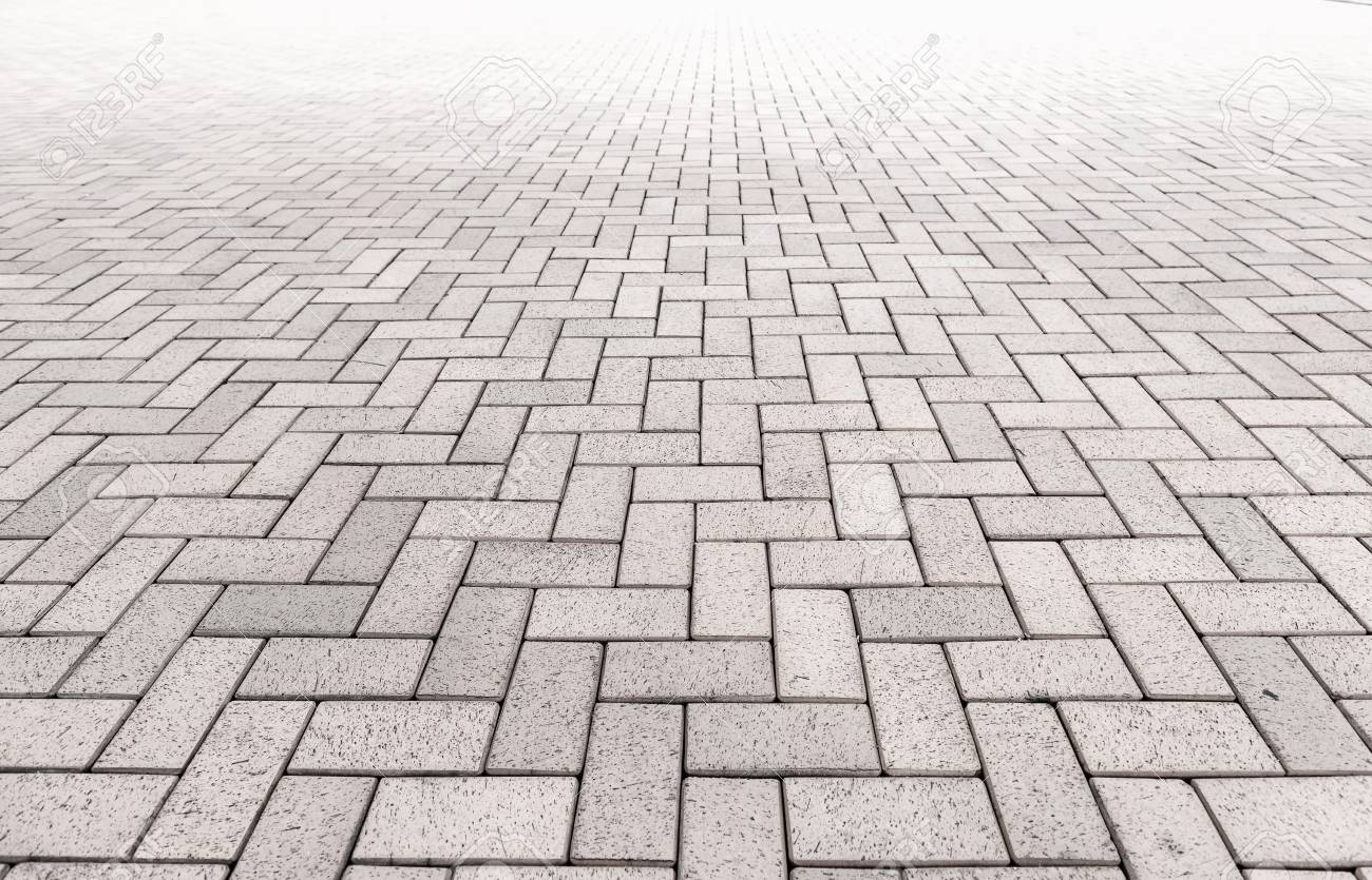 Pattern of walkway concrete block paving , Abstract background