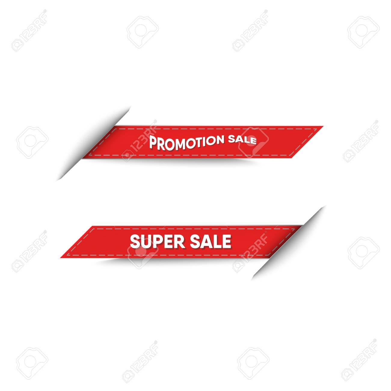 Sale banner and tag design of sale promotion , Vector, Illustration