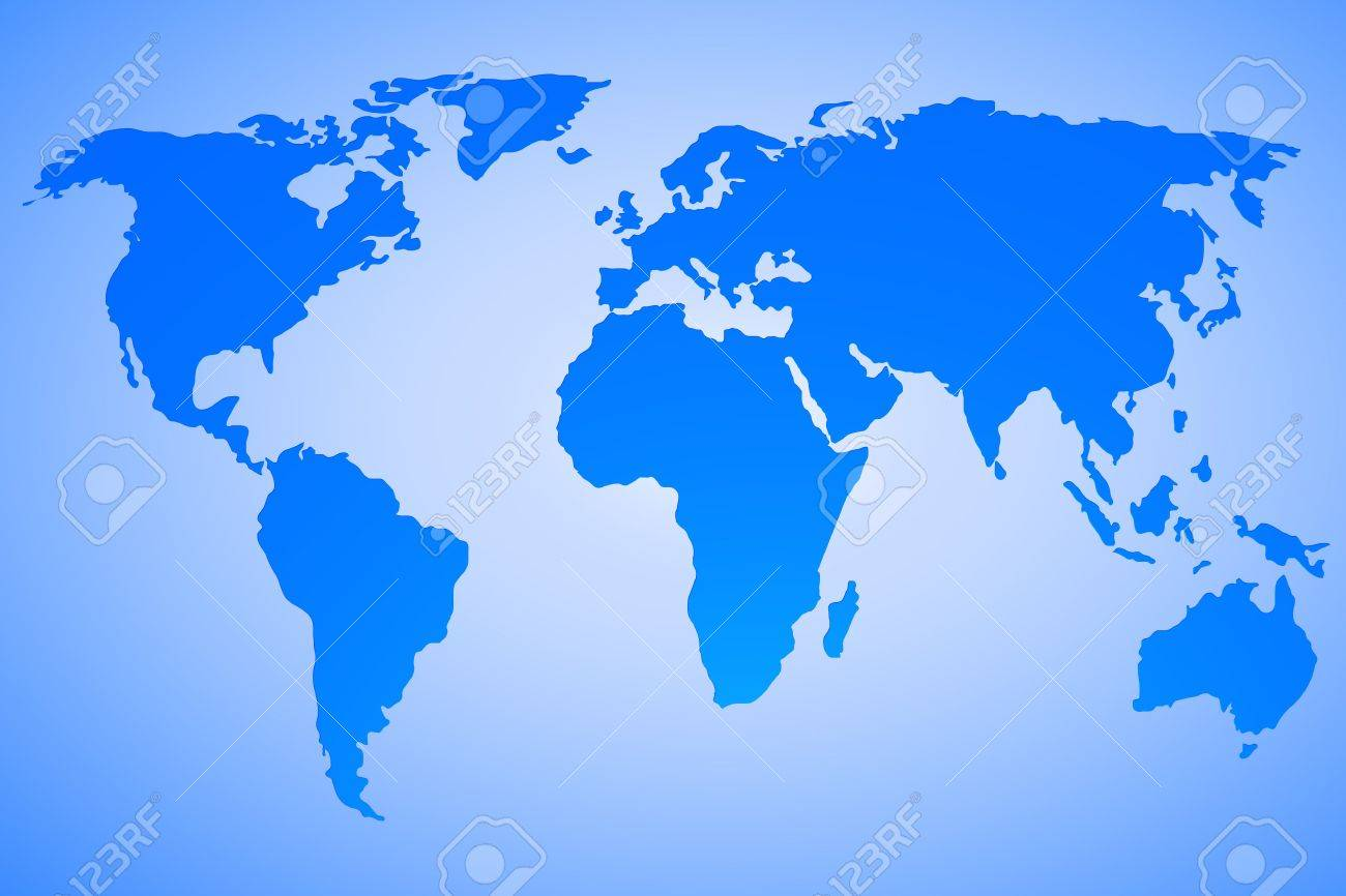 World map vector design on blue gradient background map used world map vector design on blue gradient background map used to trace http gumiabroncs Images