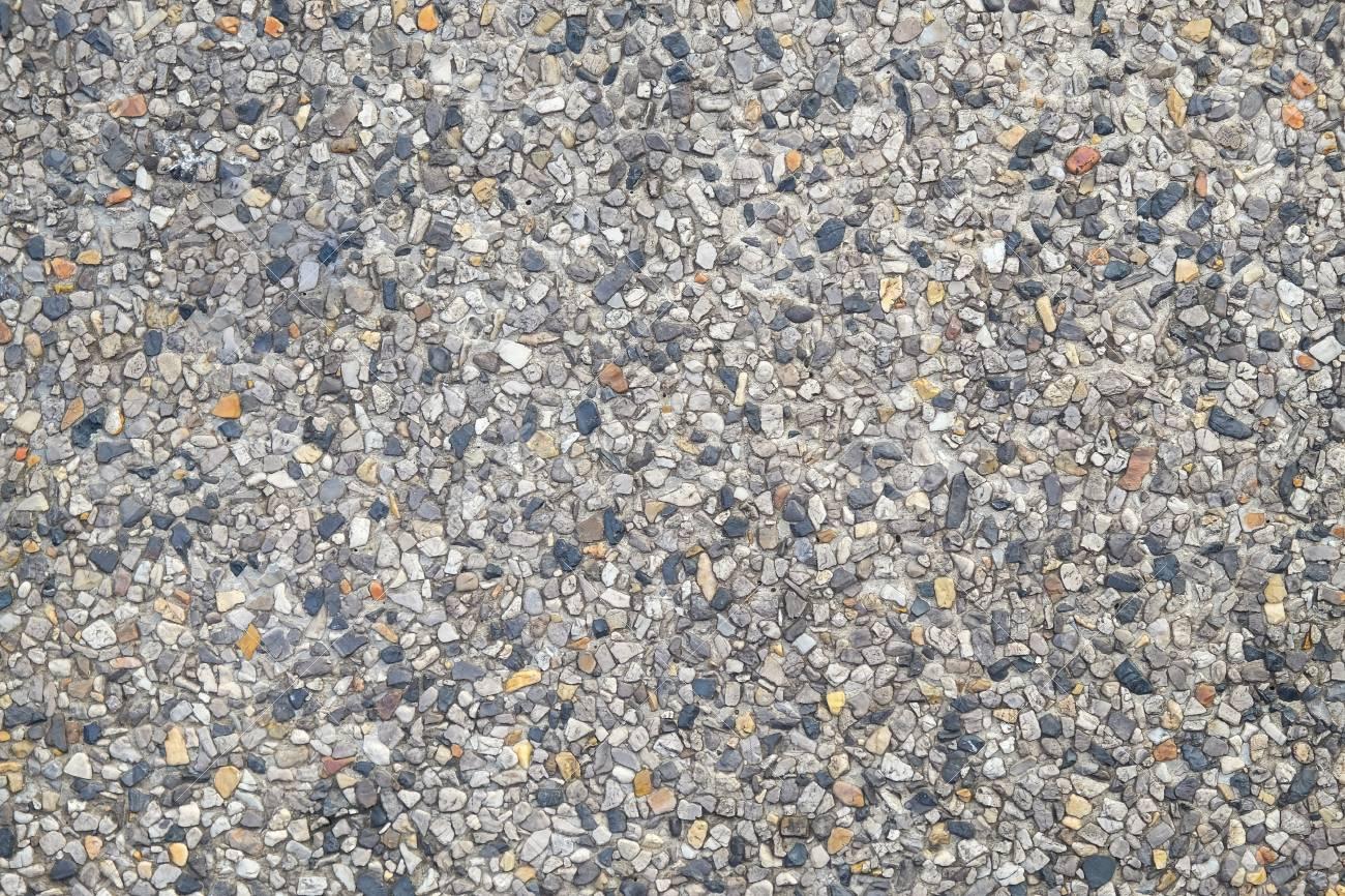 Background of rocky gravel stones closeup Standard-Bild - 46785049
