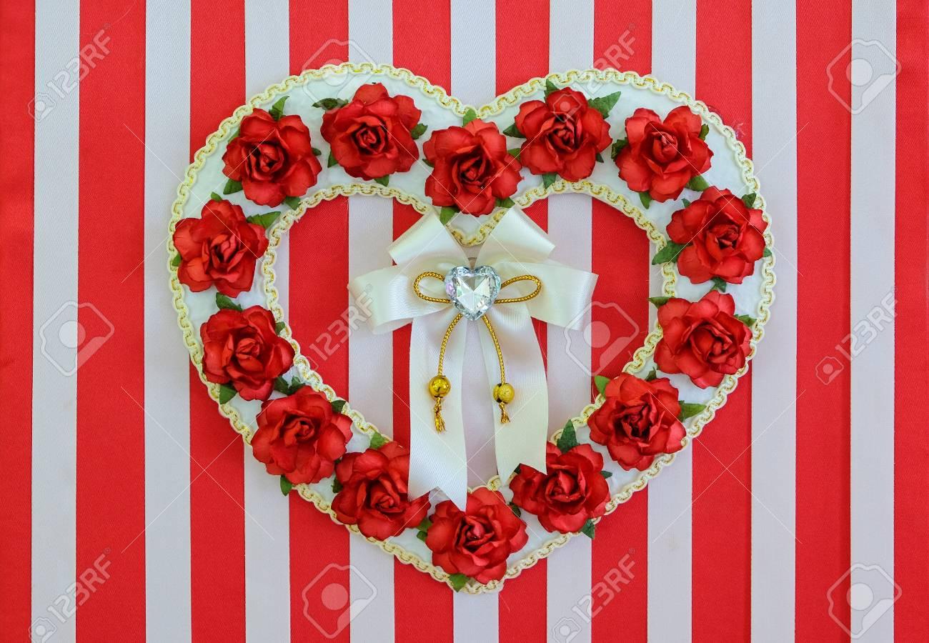 Valentine background Standard-Bild - 46785367
