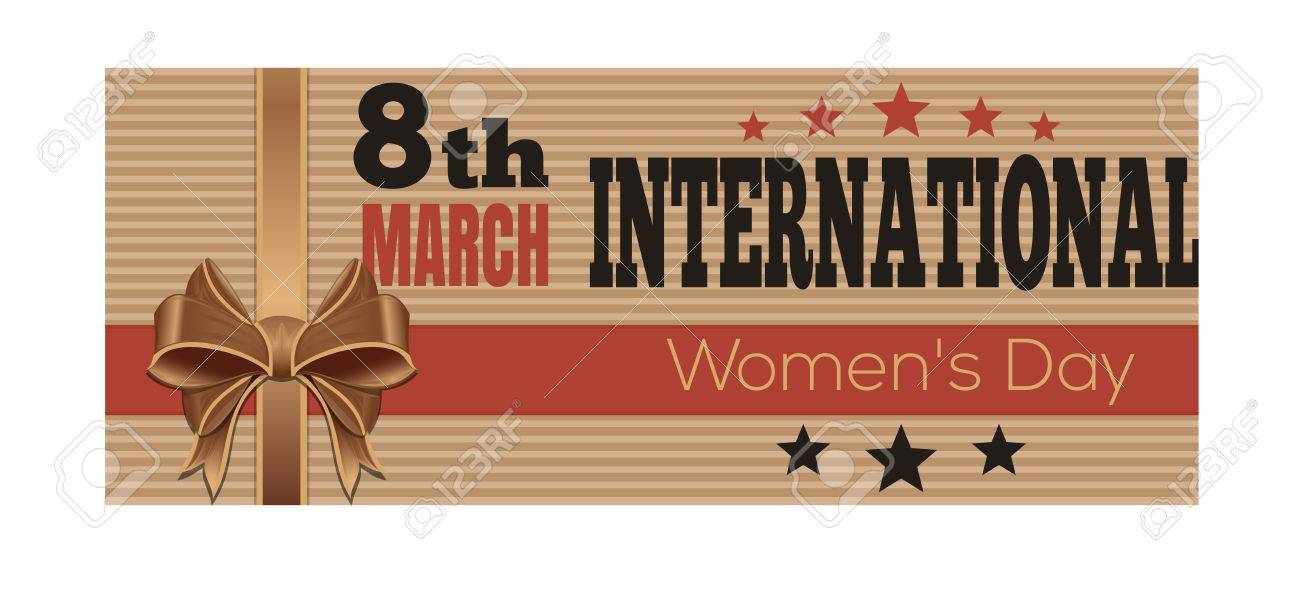 International Womens Day Retro Style Greeting Card 8th March