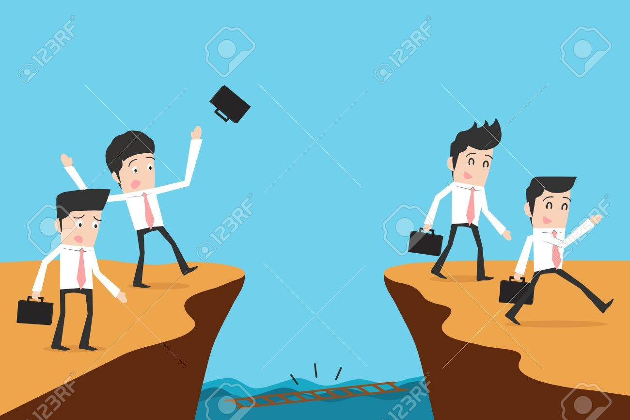 Businessman and solution Stock Vector - 19378303