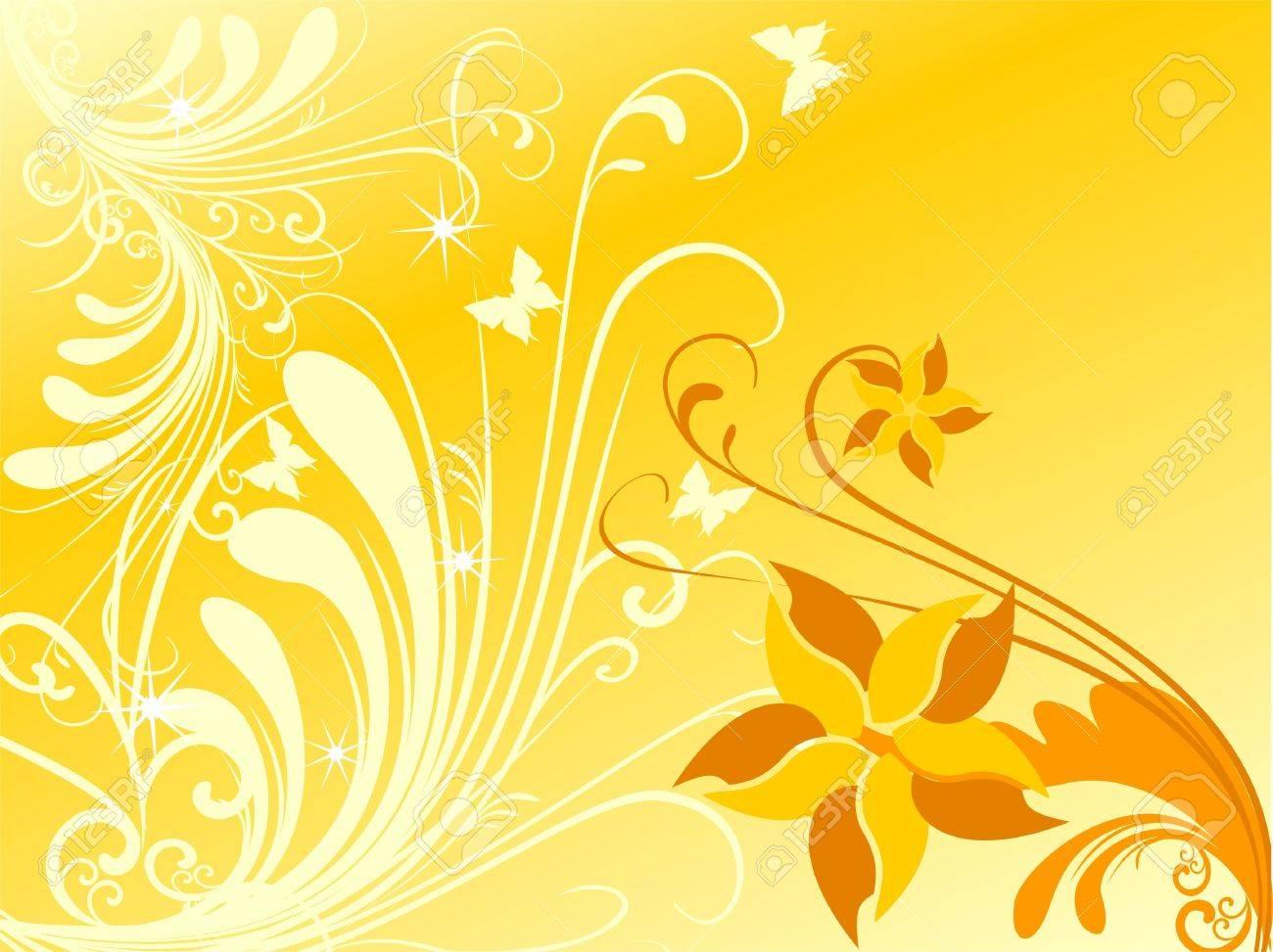 Floral background - 10748470