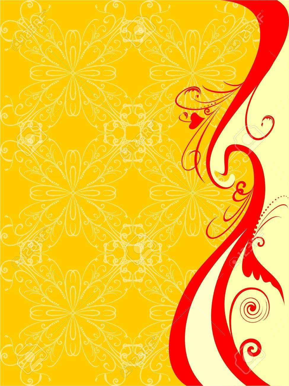 floral pattern - 10748474