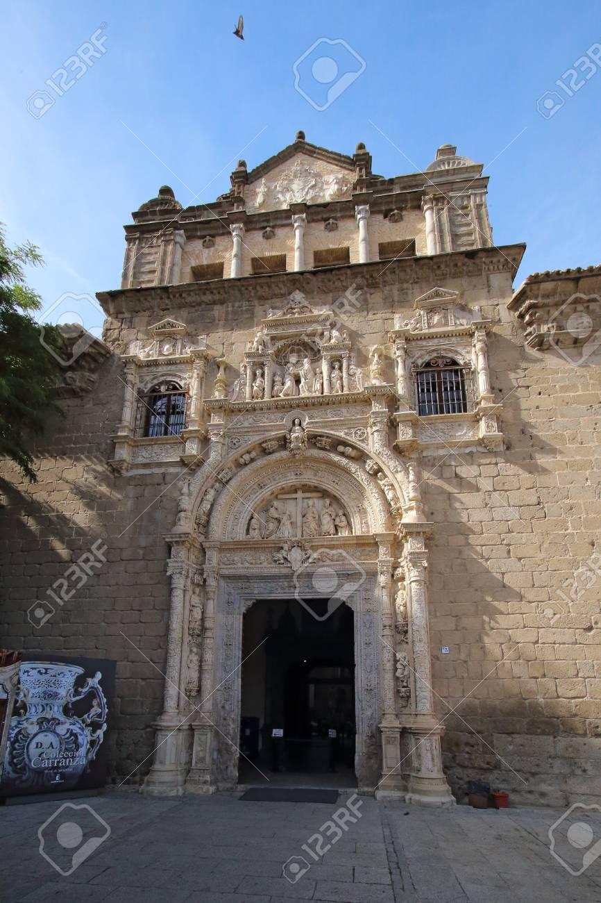 Museo De Santa Cruz.Museo De Santa Cruz Museum Of Saint Cross Toledo Spain Stock